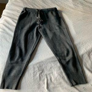 Zara knit pants with pockets